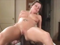 Long and thick black cock fucks white girl in her perfectly bald pussy