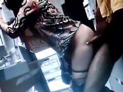 Awesome mature slut serving big black cock for wife sharing porn